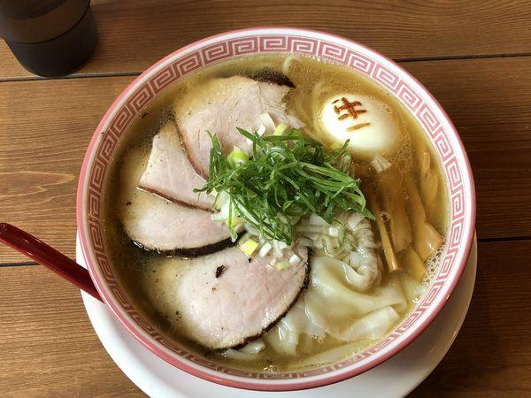 「特製うす口醤油そば ¥970」@麺切り 白流の写真