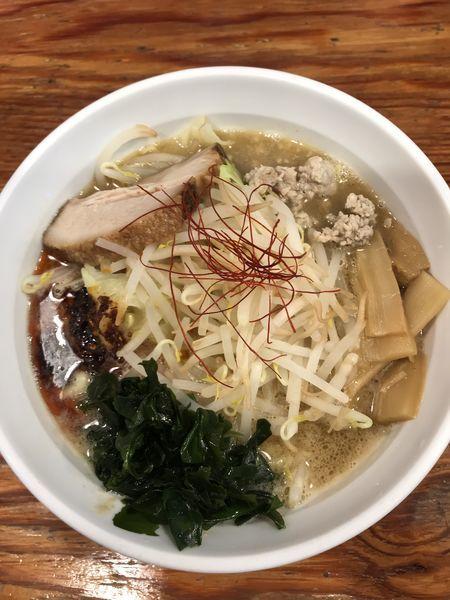 「海老味噌らーめん」@つけめんTETSU さいたま特別版の写真