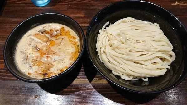 「海老香味つけめん大盛」@麺や 蒼 AOIの写真