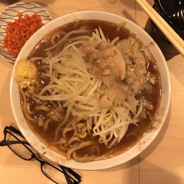 「ラーメン(200g)」@鷹の目 蒲田店の写真