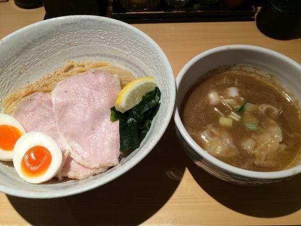 「特製濃厚塩つけ麺(並)1150円」@つけ麺 道の写真