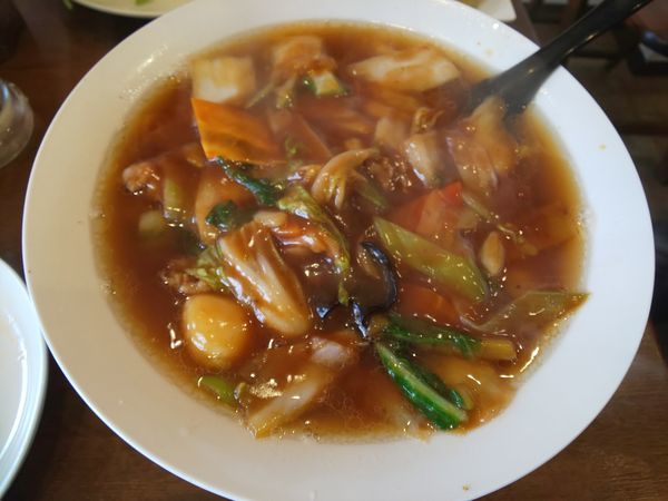 「カトレア麺(広東麺)」@麺処・餃子処 TESHIの写真