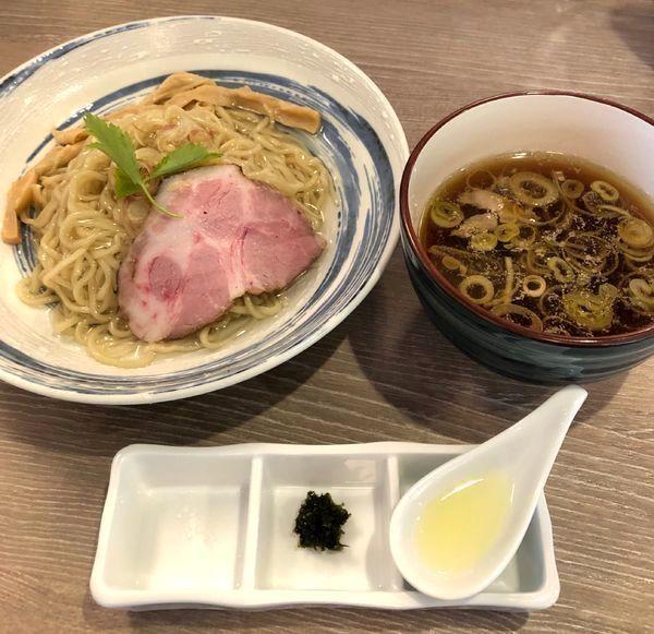 「昆布水つけ麺¥900&ビール小瓶¥400」@中華そば 和渦 TOKYOの写真