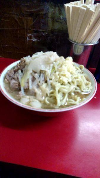 「大豚700円野菜ニンニク脂」@ラーメン二郎 目黒店の写真