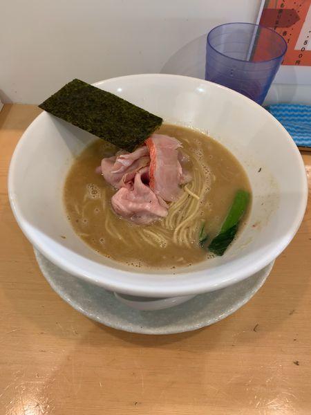 「濃厚金目鯛そば(限定)」@麺屋BISQの写真