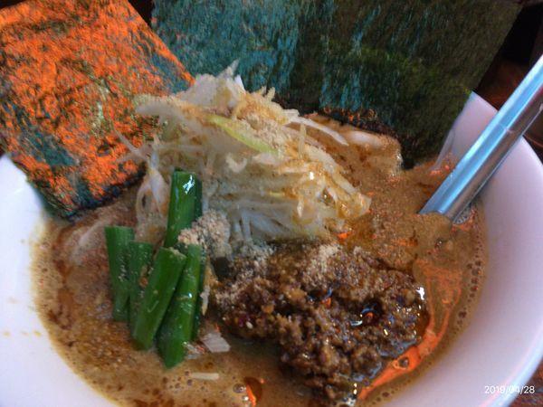 「立川タンタン麺」@横浜家系ラーメン いとし家の写真