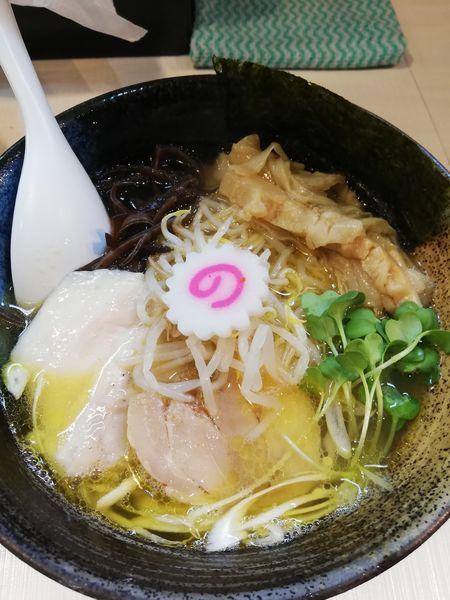 「魚介塩らぁ麺」@桜台らぁ麺 美志満の写真