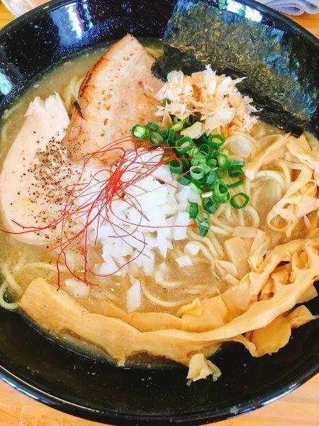 「塩 濃厚ラーメン メンマ増し」@麺魂 39の写真