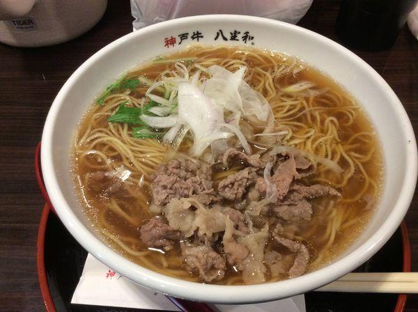 「神戸牛ラーメン」@八坐和の写真