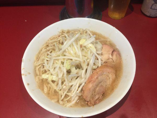 「小ラーメン《麺少なめ、野菜少なめ》(¥700)」@ラーメン二郎 荻窪店の写真