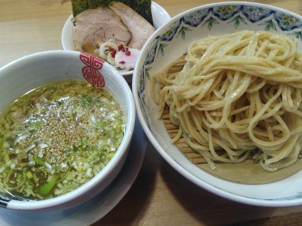 「粟国の塩つけそば¥850+(数量限定)多賀野丼¥200」@多賀野の写真
