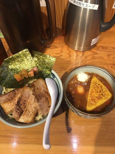 「トマトつけ麺」@麺屋まいどの写真