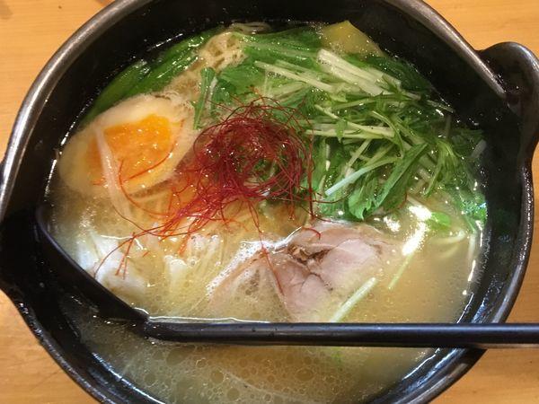 「鶏そば+やきめし+餃子」@麺処そばじんの写真
