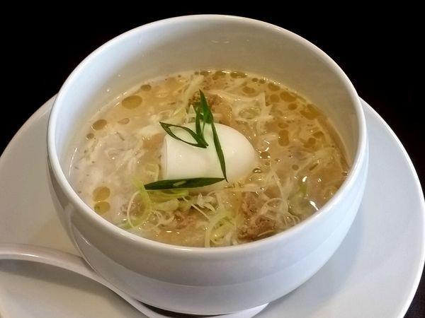「エビ味噌麺」@蝉吟の写真
