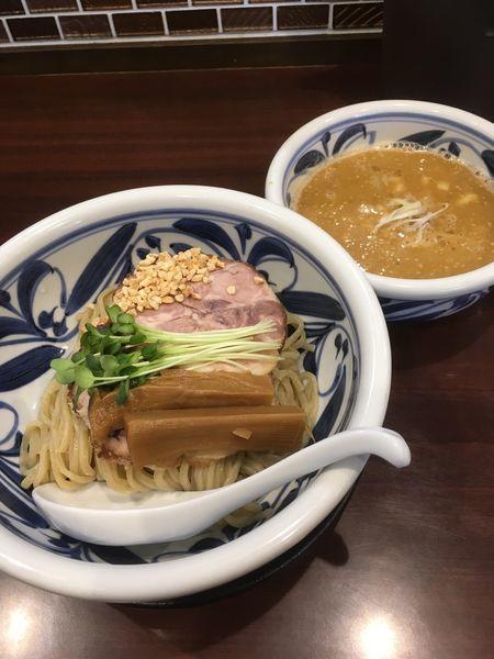 「カラシビ坦々つけ麺(900円)」@らーめんつけ麺 吉田商店 本店の写真