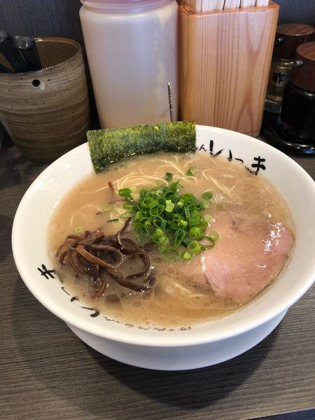 「らーめん650円」@博多長浜らーめん いっきの写真
