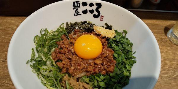 「台湾まぜそば」@麺屋こころ 御茶ノ水店の写真