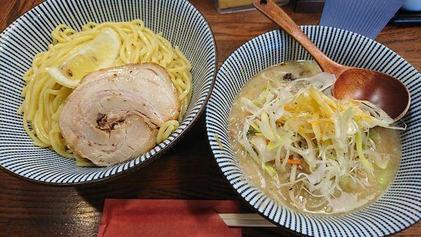「つけタンメン(890円)」@麺屋まるはなの写真