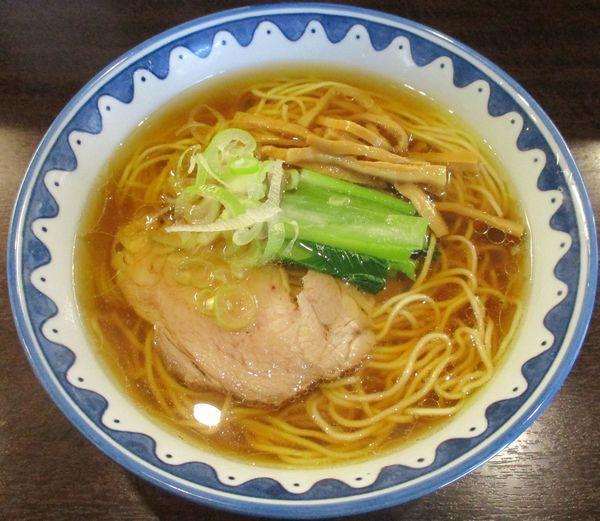 「醤油ラーメン 750円」@GANCON NOODLEの写真