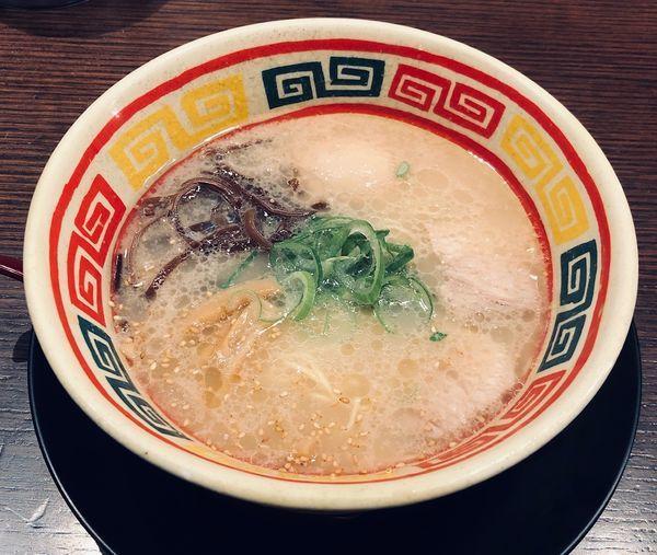 「朝のじゃんがら(麺固¥650)」@東京じゃんがら ecute上野店の写真