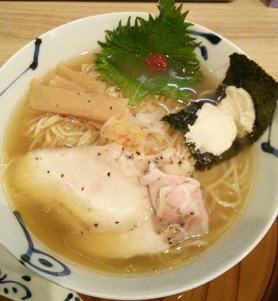 「鯛清湯らーめん(醤油) 790円」@麺や 空月の写真