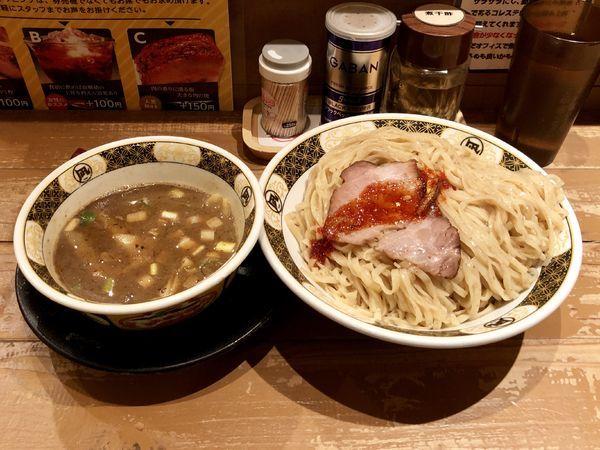 「すごい煮干しつけめん」@ラーメン凪 下北沢店の写真