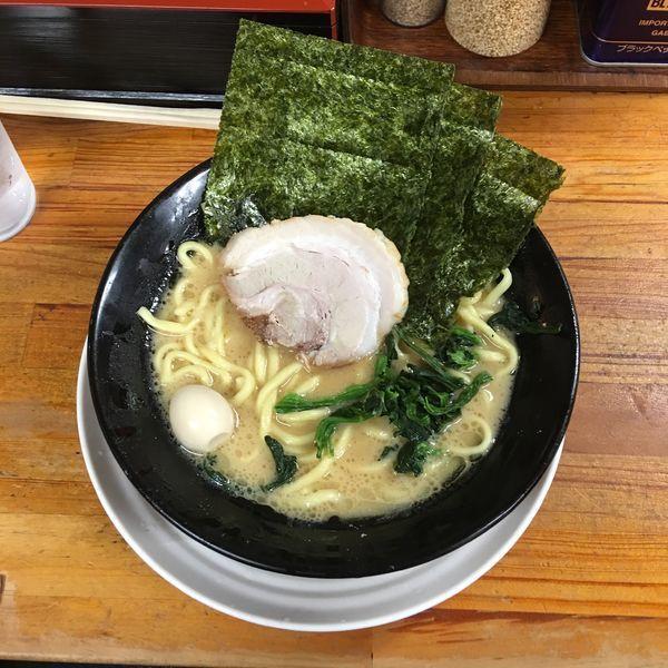 「醤油ラーメン」@横浜ラーメン 湘家 前橋店の写真