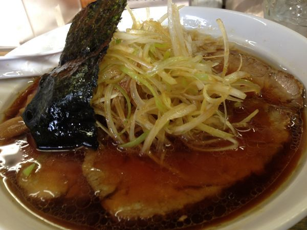 「ネギチャーシュー麺」@藍華の写真