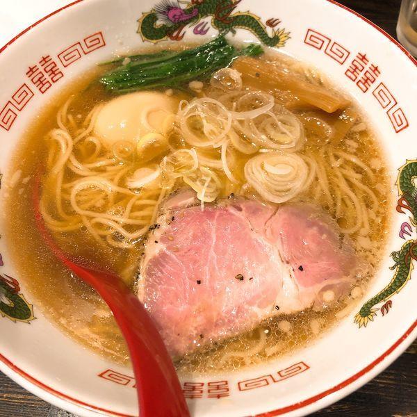 「蔵木の中華そば(しょうゆ) ¥670+味玉 ¥100」@製麺処 蔵木の写真