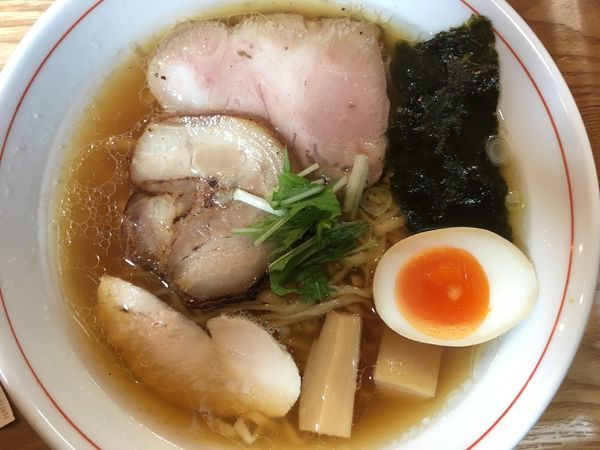 「特製醤油らぁ麺 850円」@らぁ麺屋まるわの写真
