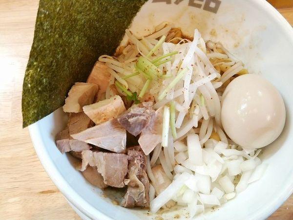「油そば+味玉」@中華そば ムタヒロ 錦糸町店の写真