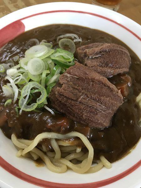 「限定  皐月 和[牛]タン先カレーA スタンダード」@MENYA 食い味の道有楽の写真