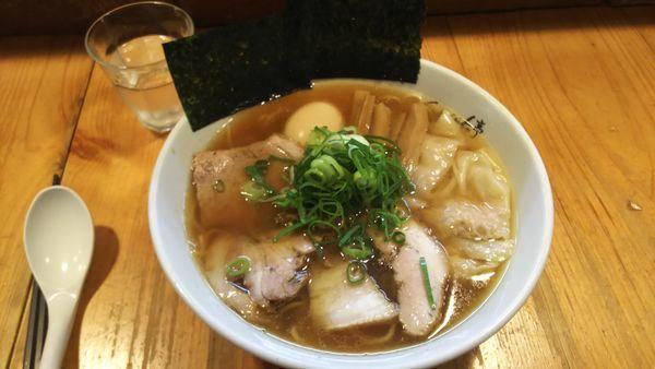 「醤油特らーめん 1100円」@ShiNaChiKu亭の写真