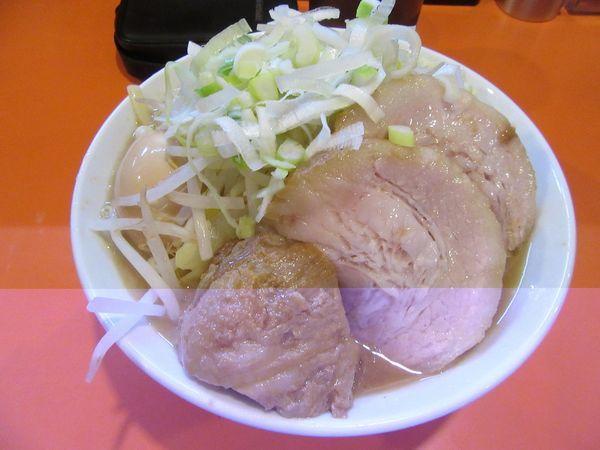 「ミニラーメン(780円)+豚券+味玉」@ちばからの写真