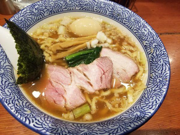 「手揉み中華蕎麦」@麺処 ほん田の写真