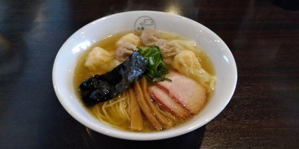 「特製わんたん麺(白だし)」@八雲の写真