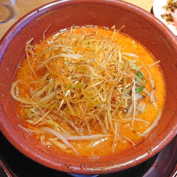 「辛か味噌(太麺) 864」@麺龍 炎の杜の写真