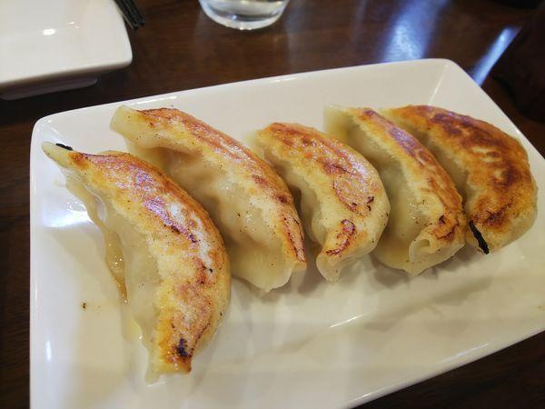 「焼餃子 250円」@麺処・餃子処 TESHIの写真