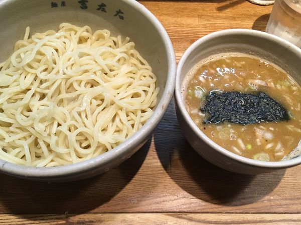 「味玉つけ麺」@麺屋吉左右の写真