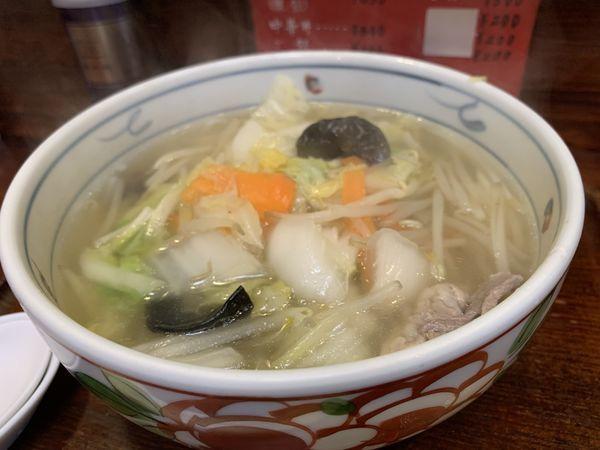 「野菜らーめん」@来集軒の写真