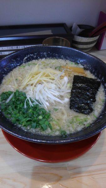 「背油らぁ麺(大盛)」@支那そば やそじの写真