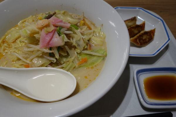 「長崎ちゃんぽん麺2倍637円」@長崎ちゃんぽん リンガーハット イトーヨーカドー松戸店の写真