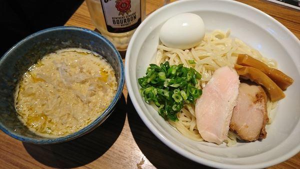 「超濃厚つけそば(880円)」@鶏そば・骨付き鶏 金嶋の写真