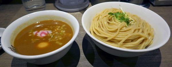 「味玉つけ麺 大盛」@つけめんTETSU 京王モール新宿店の写真