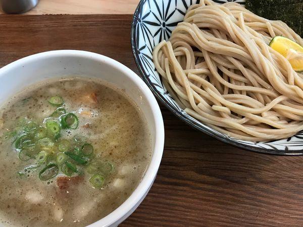 「鶏白湯煮干しつけ麺」@Ramen611の写真