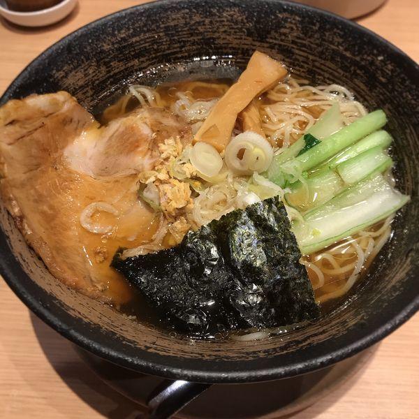 「空海そば 醤油」@麺屋 空海 ヴィーナスフォート店の写真