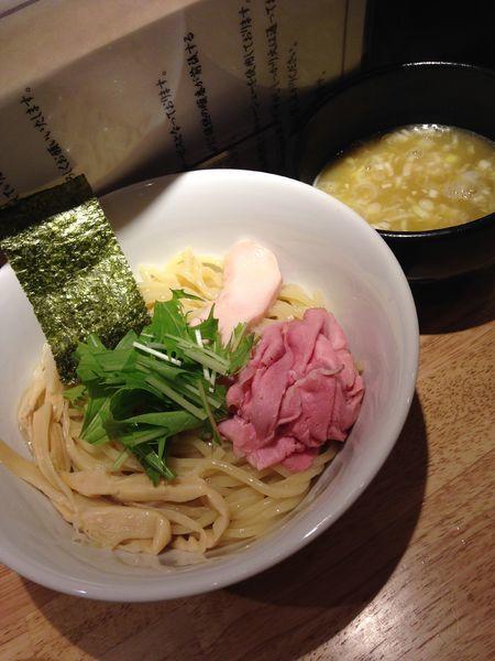 「鶏白湯つけ麺 850円」@麺屋 れんしんの写真