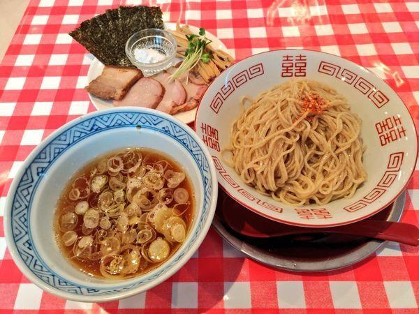 「昆布水つけ麺(醤油)」@ぬーじボンボン ニュータイプの写真