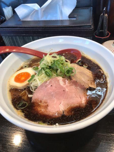「煮干しラーメン」@麺匠 むさし坊 武蔵浦和本店の写真