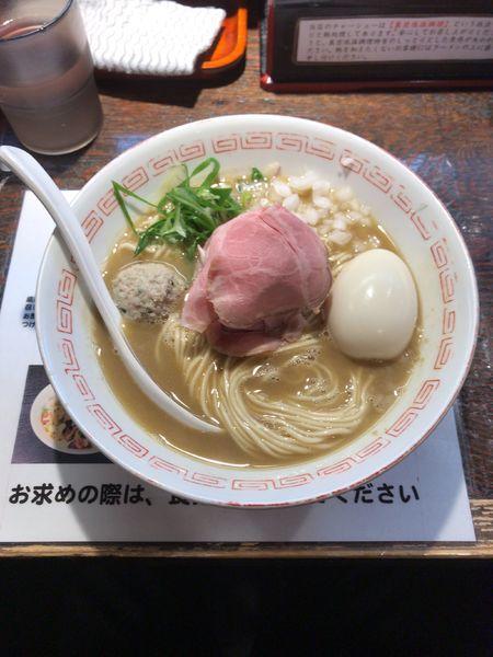 「濃厚ラーメン+味玉」@らぁめん小池の写真